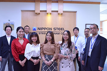 NIPPON STEEL VIETNAM様
